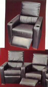 home theatre seating, leather home theater seating, home theater seating furniture, custom home theater seating,