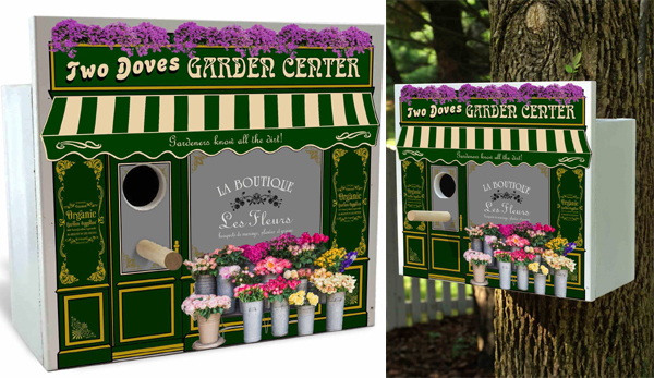 Image of GARDEN CENTER PARK AVENUE BIRDHOUSE