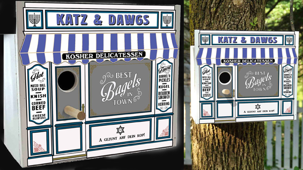 Image of KATZ & DAWGS PARK AVENUE BIRDHOUSE