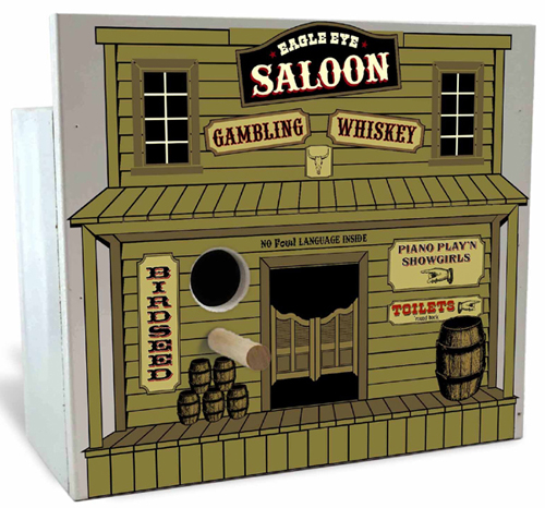 Image of SALOON PARK AVENUE BIRDHOUSE
