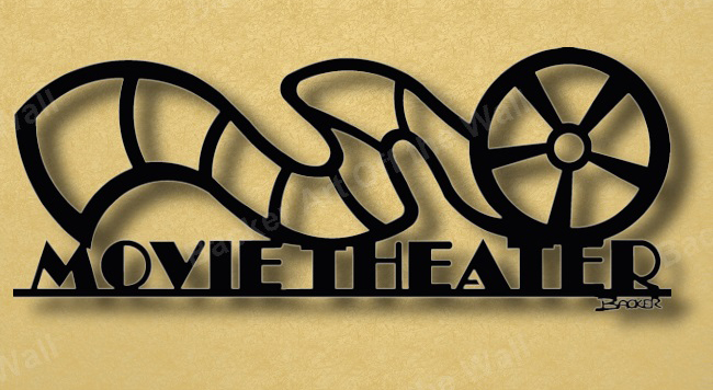 Movie Theater Wall Decor wall decor