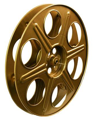 reels of film. AUTHENTIC 35mm FILM REELS