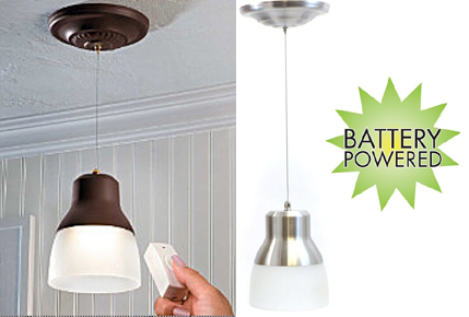 Wireless Hanging Pendant Lights