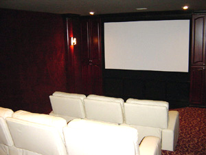 Home Theatre Interiors, Let us help you with Design and ...