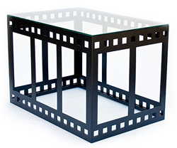 Cinema Collage Coffee Table Furniture For Your Personal Home Theater